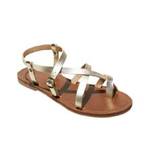 Universal Thread Gold Lavinia Sandals 8
